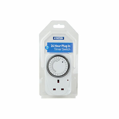 Status 24 Hour Timer Switch
