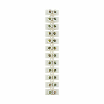 Status 30 amp Terminal Block Clear  ( Loose ) 12 blocks per strip