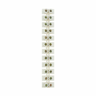 Status 5 amp Terminal Block Clear  ( Loose ) 12 blocks per strip
