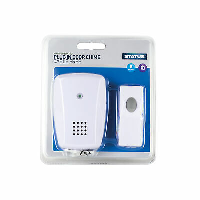 Status - Plug-in Door Chime  Cable Free