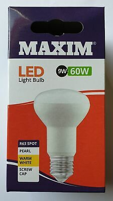 Maxim LED R63 Warm White Spot ES 9W - 60W