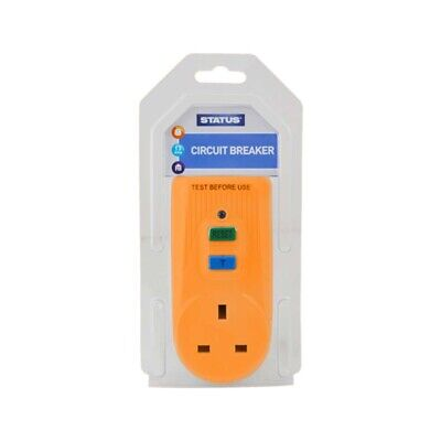 Status Power Circuit Breaker Orange
