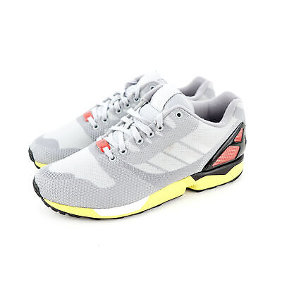 best loved 8b505 40b47 ADIDAS ZX FLUX Techfit Mens Running shoes Yellow/White/Onix ...