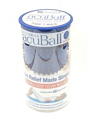 Dr. Cohen's AcuBall Pain Relief Acupressure Heatable Deep Tissue Massage