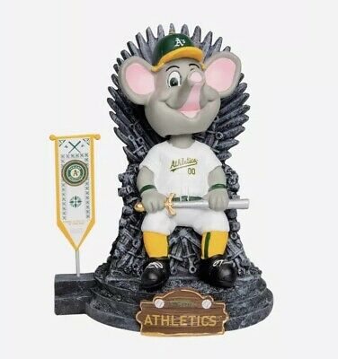 "Oakland Athletics A's ""STOMPER"" Game of Thrones MLB EXCLUSIVE Mascot Bobblehead"