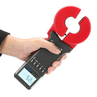 ETCR2100A+ Digital Clamp On Ground Earth Resistance Tester Meter 0.01-200Ω in US