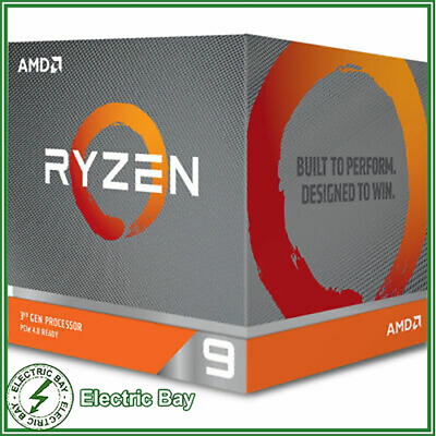 AMD Ryzen 9 3900X CPU 64 MB Cache 3.9GHz 24 Thread 12 Core AM4 Desktop Processor