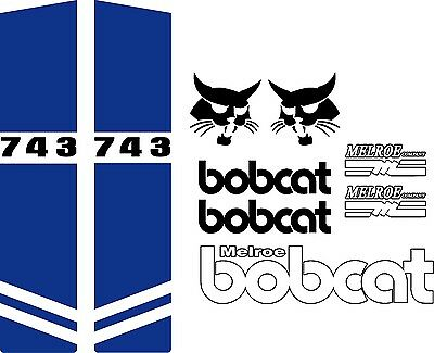 743 repro decals C / decal kit / sticker set US seller Free shipping fits bobcat