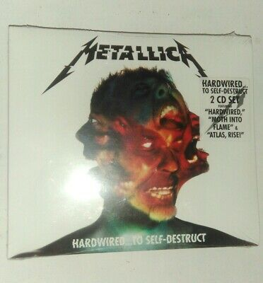 Metallica Hardwired To Self-Destruct - 2016 2CD Set NEW And Factory Sealed