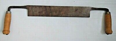 "Vintage Felled Draw Shave Knife 14"" Straight Draw Knife Straight Draw Shave Tool"
