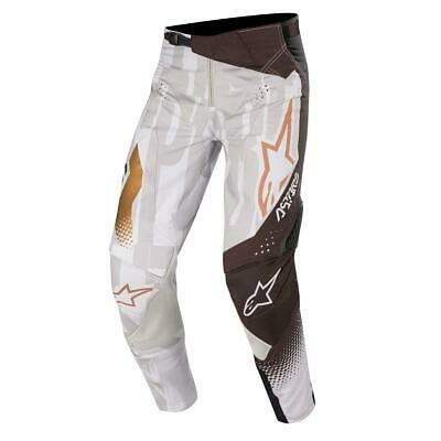 Alpinestars Cross Hose Techstar Factory Metal - Grau/Schwarz/Kupfer