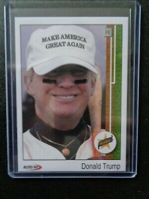 1989 Upper Deck Donald Trump Ken Griffey Jr. Rookie Parody ACEO Baseball Card