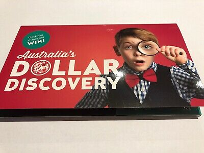 Australia 2019 $1 One Dollar Discovery Collectors Coin Folder and Magnifier