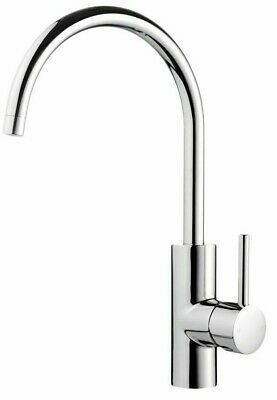 Methven FLEXISPRAY MEDEA GOOSENECK MIXER TAP Side Lever Handle, Chrome