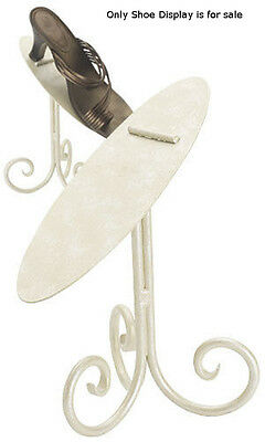 """Pair up Shoe Display Stand 8 Cobblestone,/• 8/"""" High Stand /• Rich Cobblestone Finish /• Stands Sold Individually,step It up with Our Custom Designed Shoe Displays The Cobblestone Finished Stands Come in 6/"""" or 8/"""" Heights"""
