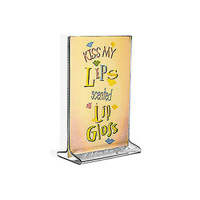 Acrylic Clear Top Load Sign Holder4W x 6H Inches - Box of 10