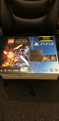 Sony PlayStation 4 500 GB Jet Black Console With Games Boxed! Plz Read Desc!