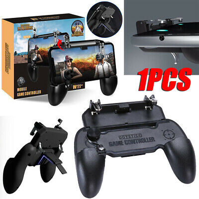 W11+ PUBG Mobile Gamepad Wireless Remote Controller Joystick For iPhone Samsung