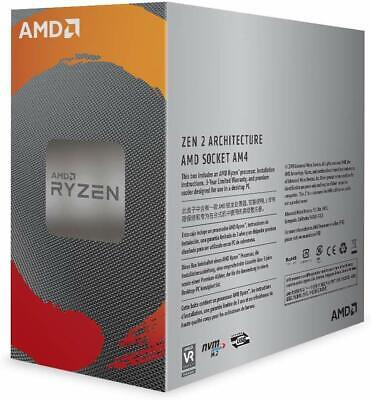 NEW AMD Ryzen 5 AM4 3600 6Core CPU 3.6GHz 12 Thread 32MB Cache Desktop Processor