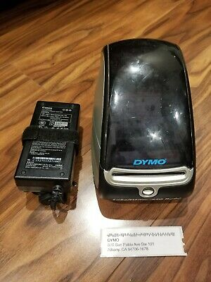DYMO THERMAL LABEL Printer With Jewelry Tags - Includes Rat Tail