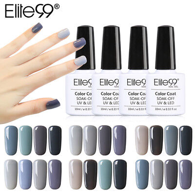 Elite99 10ml 4/6pcs Kit de Esmaltes de Uñas Gel UV LED Semipermanente Serie de