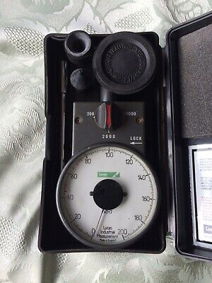 Vintage Smiths Venture ATH 7 Engineers Hand Tachometer Rev Counter. Lucas Badged
