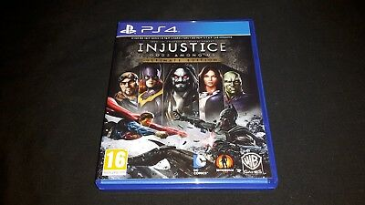 Injustice Gods Among Us Ultimate Edition - PS4 - Sony Playstation 4 Game - Boxed