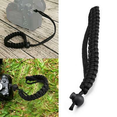 Camera Adjustable Wrist Lanyard Strap Grip Weave Cord for Paracord DSLR Fad