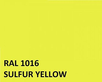 RAL SULFUR YELLOW  RAL1016 Agricultural Tractor Machinery Enamel Gloss Paint