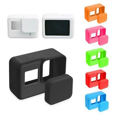Silicone Case Skin Cover With Lens Cap Accessories For Gopro Hero 7 6 5 2019Hot