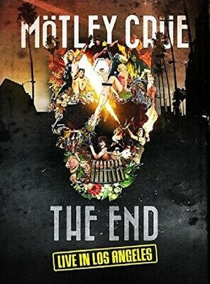 Motley Crue: The End, Live in Los Angeles (DVD) New & Sealed