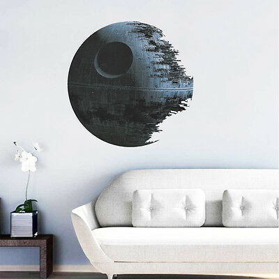 Death Star Star Wars Home Decor Wall Sticker Decals Mural Removable Stickers