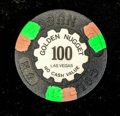 Golden Nugget 100 NCV Las Vegas Chip no cash value