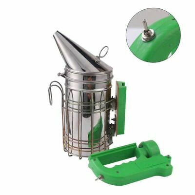 Electric Bee Smoker Bee Smoke Sprayer Transmitter Stainless Steel Beekeeping Kit