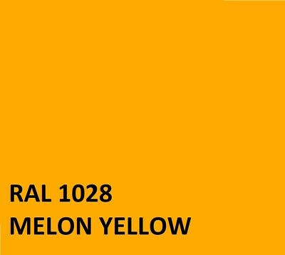 RAL MELON YELLOW  RAL1028 Agricultural Tractor Machinery Enamel Gloss Paint