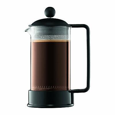 BODUM 1543-01-10 BRAZIL CAFETIÈRE À PISTON 3 TASSES 0.35 L PC INCASSABLE (1h2)