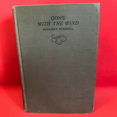 GONE WITH THE WIND HC/1938 Margaret Mitchell The Macmillan Company Classics