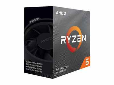 NEW AMD Ryzen 5 3600 6-Core 3.6GHz CPU 32MB Cache Processor AM4 Socket 65W BOX