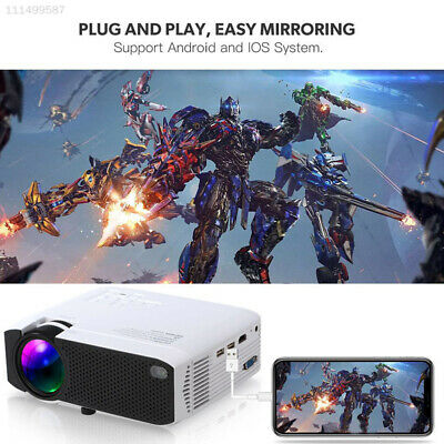 7261 USB Screen Mirroring Portable LED Projector LCD Home Projector Home Cinema
