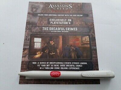 Assassins Creed Syndicate Dreadful Crimes Missions DLC Content For UK Sony PS4
