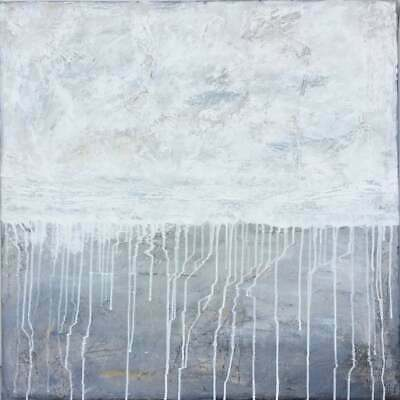 Original Abstract Modern Contemporary Texture Painting Canvas Acrylic Wall Art