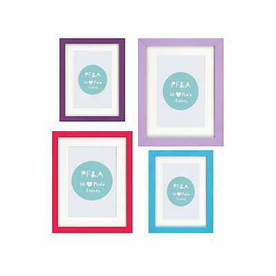 Photo Frame Wall Mounted Large Poster Picture Bright Colours Modern Many Sizes