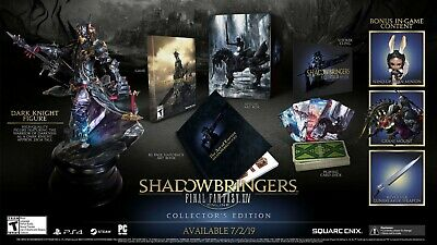 Final Fantasy XIV Shadowbringers Collector's Edition (PS4) in hand,Ready to ship