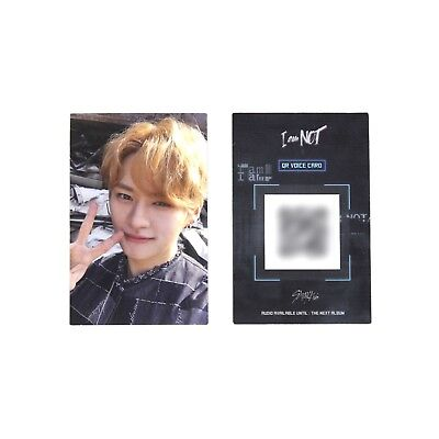 [STRAY KIDS]I Am Not Album Official Photocard/Selfie ver.-LEEKNOW