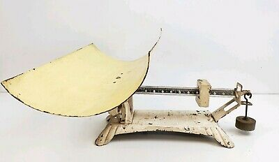 VINTAGE DETECTO BABY SCALE, BEAM-TYPE, Jacobs Bros. N.Y. WORKS WELL with weight