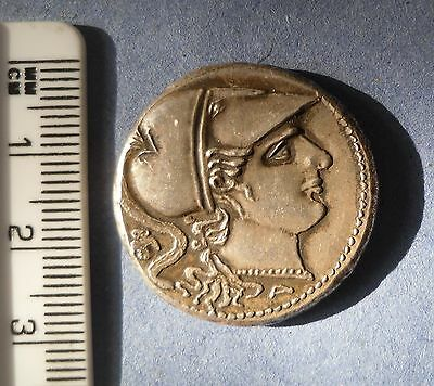 gift ancient greek coin ? goddess of victory ?