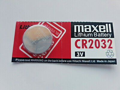 1x Maxell CR2032 3v Lithium Battery for Calculator etc, Post from MELB