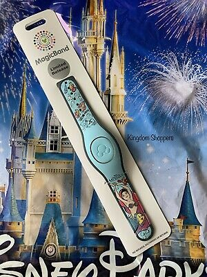 Disney Parks Magicband Little Mermaid 30th Anniversary Flounder & Ariel NEW