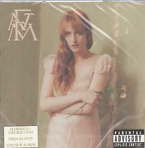 FLORENCE AND THE MACHINE High As Hope CD 10 Track (cdv3204) Still Sealed EUROP