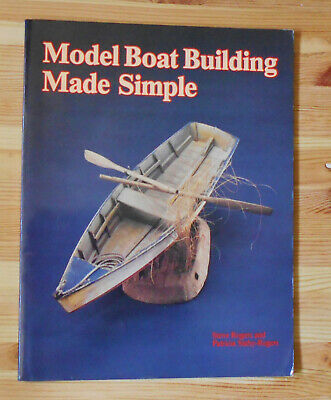 Model Boat Building With Illustrations & Pattern ... in color !